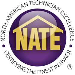 For Air conditioner in Howell MI, Accu-Temp Heating and Air Conditioning is NATE certified.