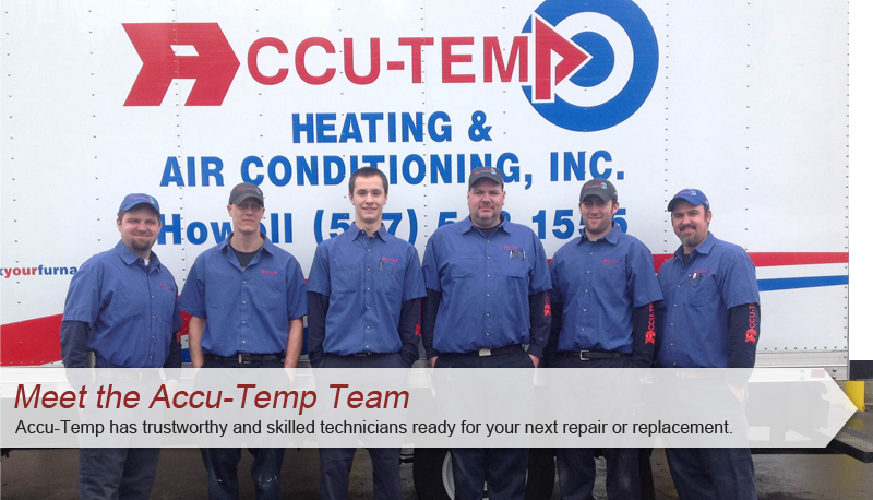 Trust Accu-Temp with your Air conditioner installation in Brighton, MI.