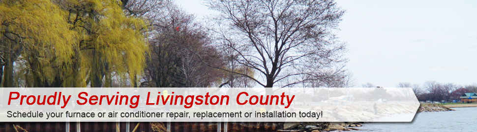 Furnace repair service in Livingston County
